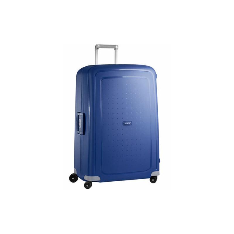 Samsonite S'Cure Spinner 81 cm Valise Trolley 4 Roues Dark Blue