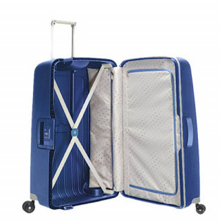 Samsonite S'Cure Spinner 81 cm Valise Trolley 4 Roues Dark Blue