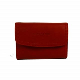 Lancaster Soft Vintage Porte Monnaie 120-21 Rouge