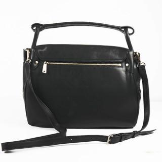 Lancaster Soft Vintage Clara Sac Porté Epaule 578-51 Noir