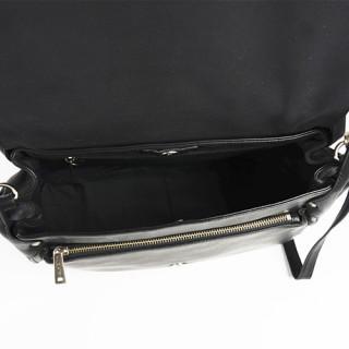 Lancaster Soft Vintage Clara Sac Porté Epaule 578-51 Noir ouvert