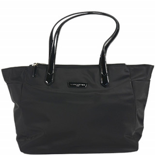 Lancaster Basic Verni Sac Shopping 514-65 Noir