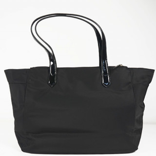 Lancaster Basic Verni Sac Shopping 514-65 Noir dos