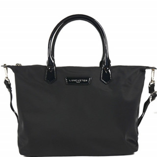 Lancaster Basic Verni Sac Shopping 514-66 Noir