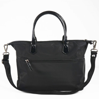 Lancaster Basic Verni Sac Shopping 514-66 Noir dos
