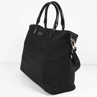 Lancaster Basic Verni Grand Sac Shopping 514-67 Noir cote