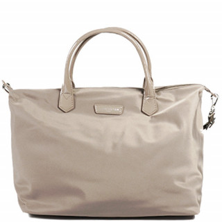 Lancaster Basic Verni Grand Sac Shopping 514-67 Galet