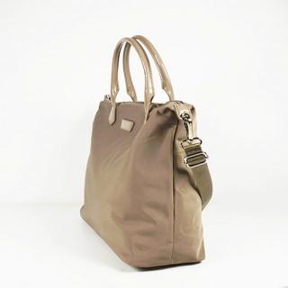 Lancaster Basic Verni Grand Sac Shopping 514-67 Galet cote