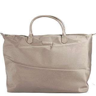 Lancaster Basic Verni Grand Sac Shopping et voyage 514-68 Galet