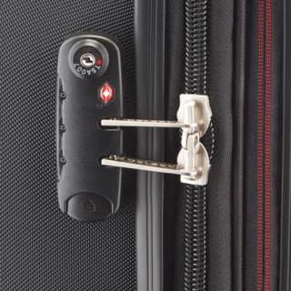 Delsey Chaumont Valise Trolley Extensible 4 Roues 67 CM Avec Poche Noir securite TSA