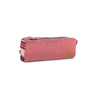 Rip Curl Mapuche Trousse Double Pencil Case Rosewood