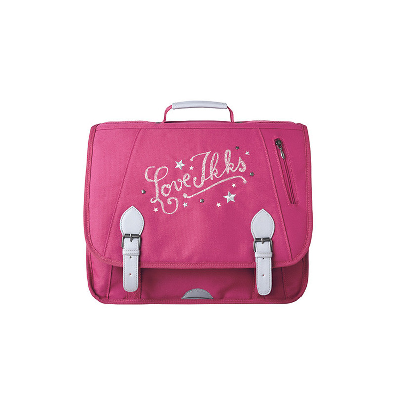 IKKS Love Cartable 41cm Rose