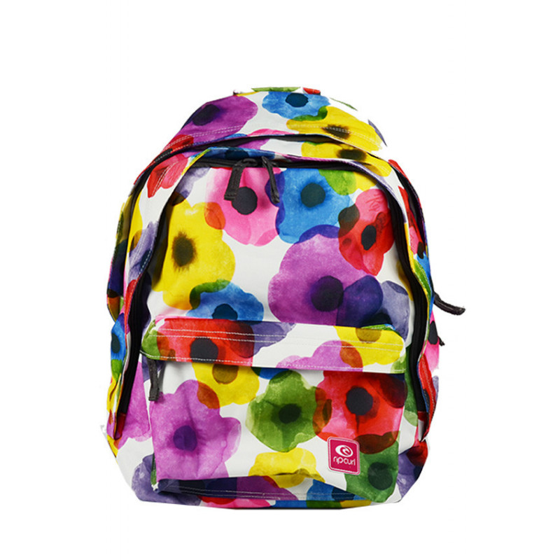 Rip Curl Flower Mix Sac à Dos Double Dome White