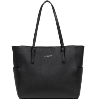 Lancaster Adèle Saffiano Intemporel Shopping 421-56 Noir