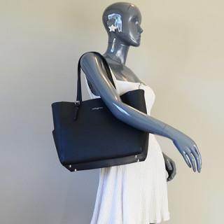Lancaster Adèle Shopping 421-56 Noir porté