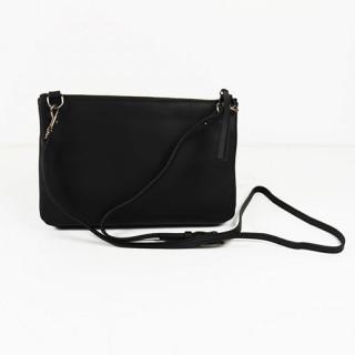 Lancaster Soft Vintage Nova Bag Pocket and Worn Travers 578-24 Black