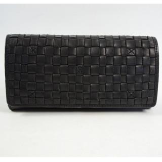Portefeuille femme cuir biba  ka3 noir