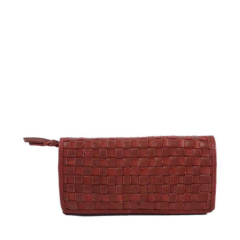 portefeuille femme cuir biba ka3 rojo