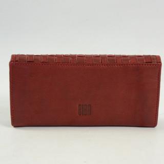 portefeuille femme cuir biba ka3 rojo dos