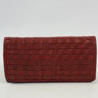 portefeuille femme cuir biba ka3 rojo face