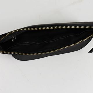 Lancaster Soft Vintage Nova Sac Pochette et  Porté Travers 578-24 Noir ouvert