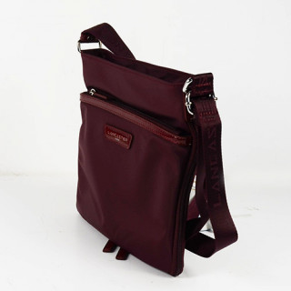 Lancaster Basic Verni Sac Porté Travers 514-59 Bordeaux cote