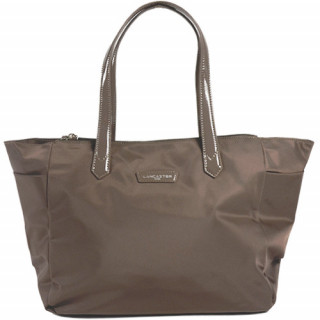 Lancaster Basic Verni Sac Shopping 514-65 Taupe