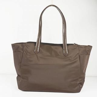 Lancaster Basic Verni Sac Shopping 514-65 Taupe dos