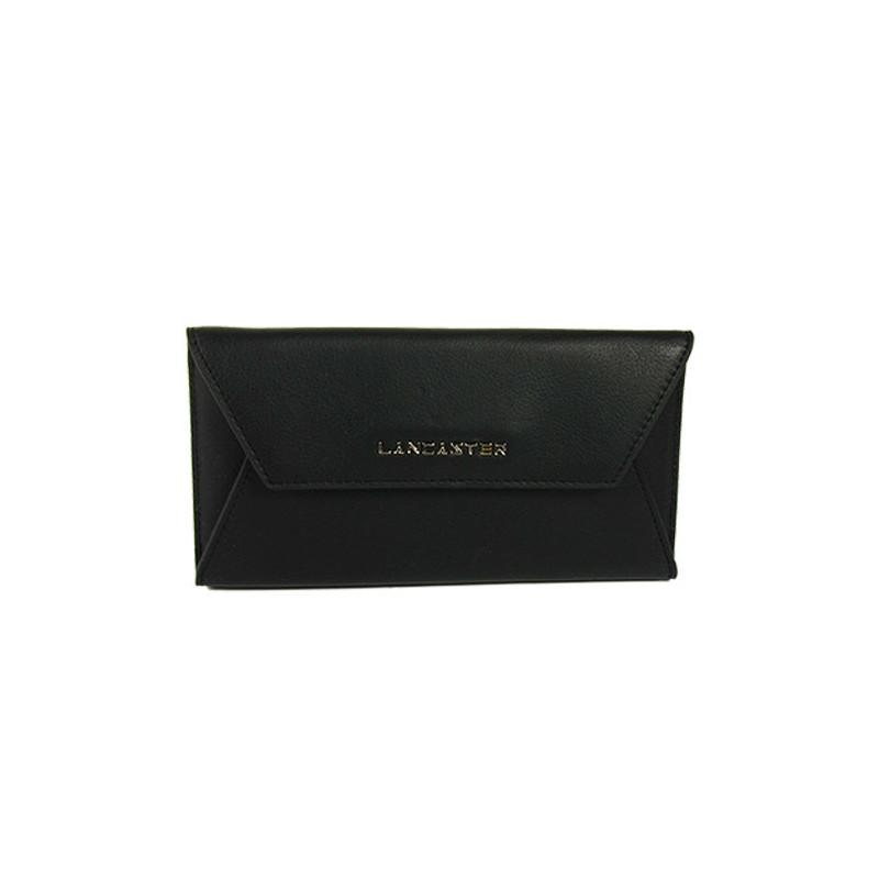 Lancaster Mademoiselle Karine Tout en Un Enveloppe 173-06 noir Galet