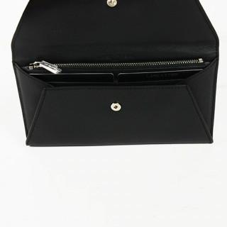 Lancaster Mademoiselle Karine Tout en Un Enveloppe 173-06 noir Galet ouvert
