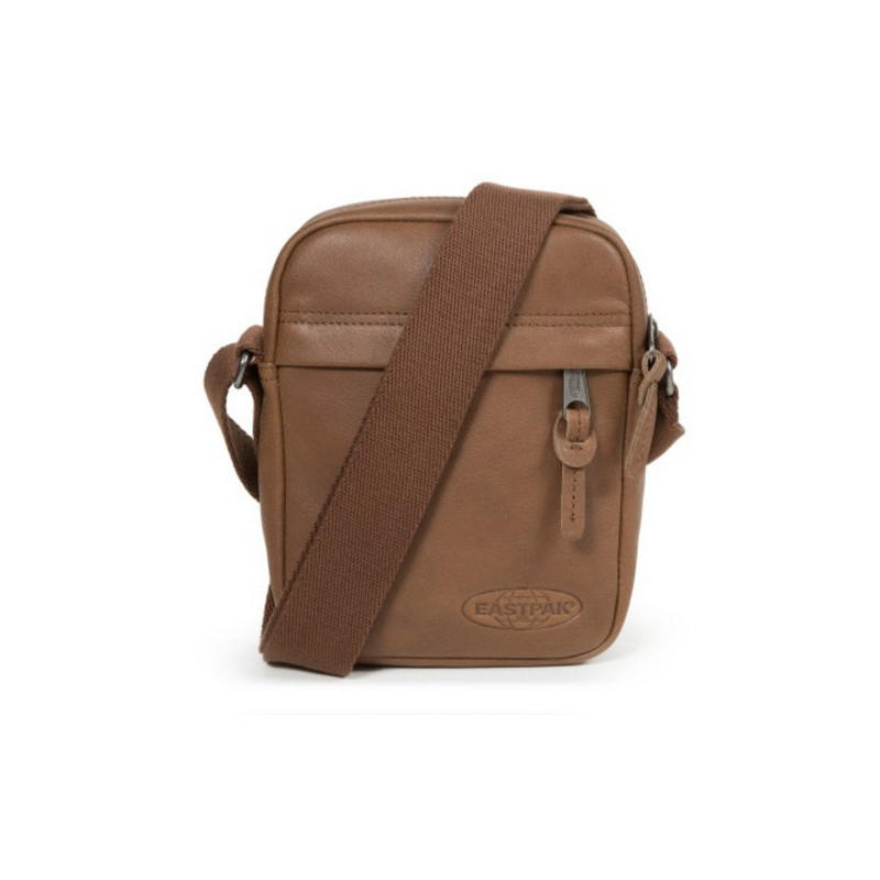 Eastpak The One Leather Cuir Pochette Bandoulière Brownie Leather