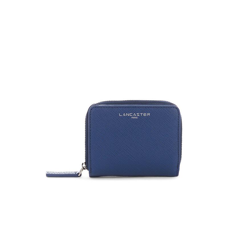 Lancaster Adèle Portefeuille 121-28 Bleu Fonce