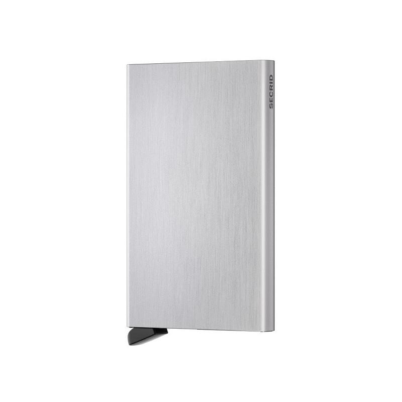 Secrid Porte-Carte Cardprotector Brushed Silver