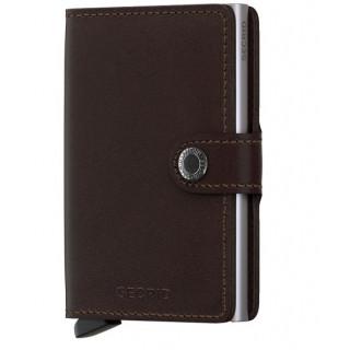Secrid Porte-Carte Miniwallet Original Dark Brown