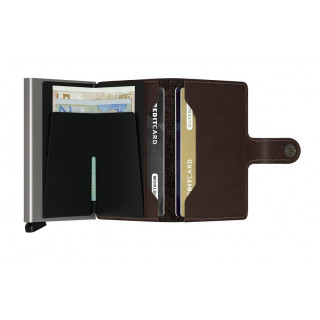 Secrid Porte-Carte Miniwallet Original Dark Brown