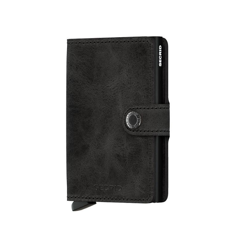 Secrid Porte-Carte Miniwallet Vintage Black