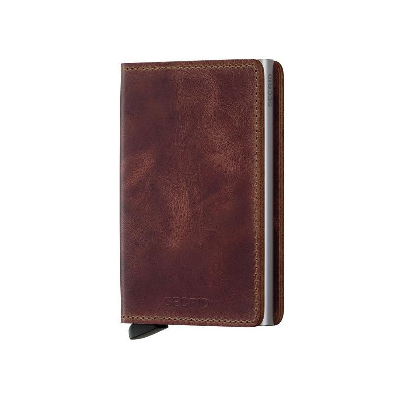 Secrid Porte-Carte Slimwallet Vintage Brown