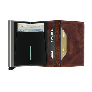 Secrid Porte-Carte Slimwallet Vintage Brown