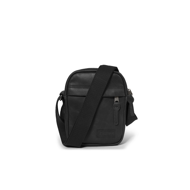 Eastpak The One Pochette Bandoulière Black Ink Leather