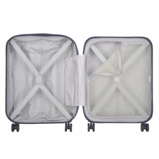 Delsey Helium Air 2 Valise Trolley Cabine Slim 4 Double Roues 55 cm ouvert