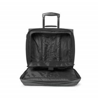 Eastpak Tranverz H Bagage Cabine et Pc Black Denim ouvert