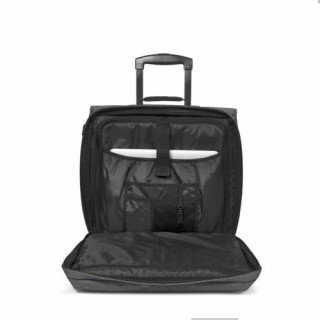 Eastpak Tranverz H Bagage Cabine et Pc Black Denim ouvert 2
