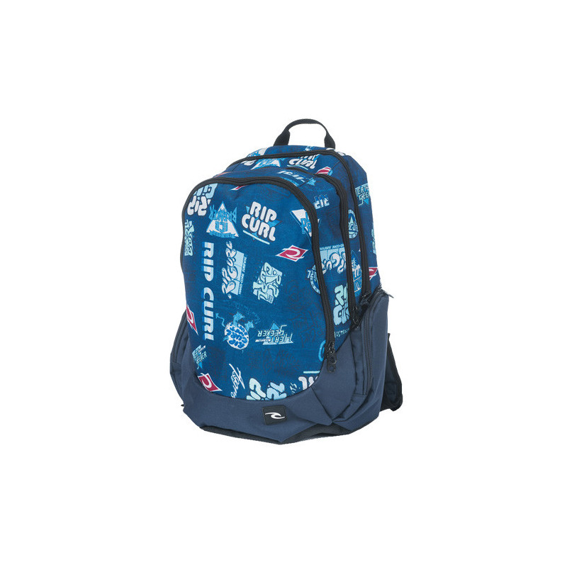 Rip Curl Proschool Heritage Logo Sac à Dos Bleu