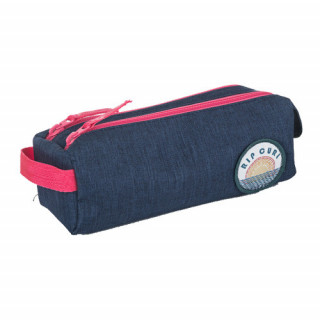 Rip Curl Solid Trousse Double Compartiment Dark Blue