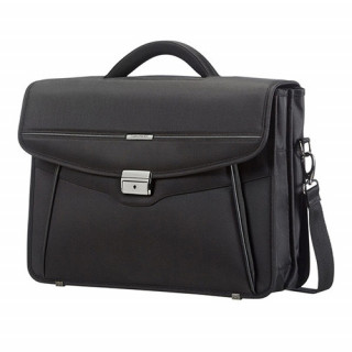 Samsonite Desklite Serviette 2 compartiments 39.6cm/15.6″ Noir