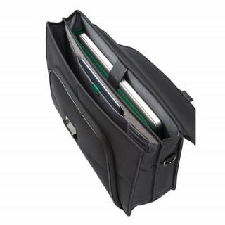 Samsonite Desklite Serviette 2 compartiments 39.6cm/15.6″ Noir