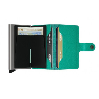 Secrid Porte-Carte Miniwallet  Crisple Vert Emeraude