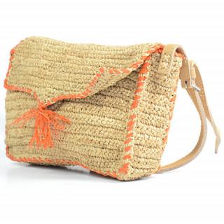 L'Atelier du Crochet Sac Trotteur Crochet Feoda Orange