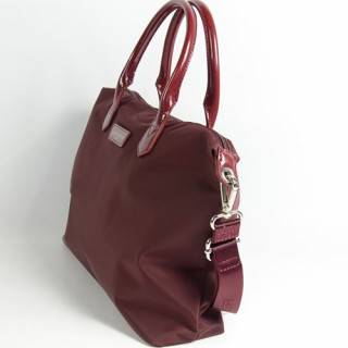 Lancaster Basic Verni Sac Shopping 514-66 Bordeaux