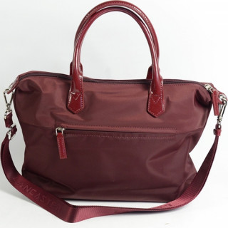 Lancaster Basic Verni Sac Shopping 514-66 Bordeaux dos